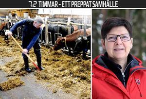 – Det skulle inte bli bra om det blev en verklig kris i Sverige. Man hörde ju farmor och farfar berätta om hur det var på 30-talet när det var krisår och de kom från städerna ut på landsbygden och skulle ha tag på mat, berättar Bengt Granqvist, vice ordförande i LRF Västernorrland.