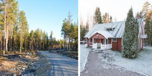 En stor skog och ett fritidshus lockade många klick. Foto: Karl Danielsson Egendomar/Fastighetsbyrån Avesta