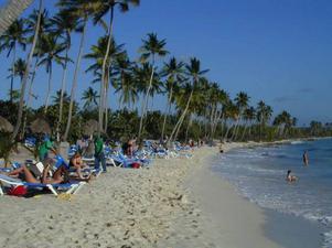 Många stränder är uppköpta och stängda för invånarna i Dominikanska republiken. Foto: Stockxchng