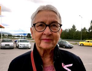 Margareta Hedman, 73 år, företagare, Stöde