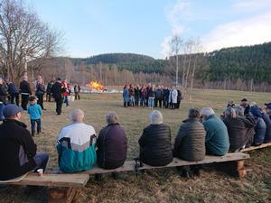Bild från Bäckbacken på Junselevallen