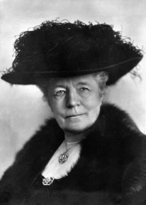 Selma Lagerlöf 1923.Foto: Atelje Jaeger, Stockholm