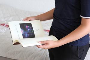 Tillsammans med sin sambo har Olivia gjort ett resealbum över sin termin i Singapore och de utflykter hon gjorde där. Foto: Privat