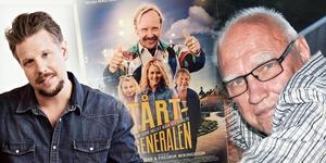 Filip Hammar gjorde en film med kollegan Fredrik Wikingsson om Tårtgeneralen Hasse P. Nu är bagaren som tillverkade tårtan, Ivar Sjöman, död.  Foto: Mattias Bardå/Kanal 5, arkiv och privat