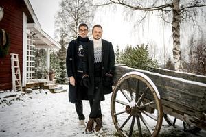 Nicklas och Tomas Lorenzton köpte en gammal kärra på loppis.