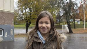 Wilma Jonsson, 9 år, elev, Norrberge.