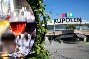 Fotomontage: Mikael Hellsten/ Lars Dafgård.Shoppa och ta ett glas vin – centrumchefen: