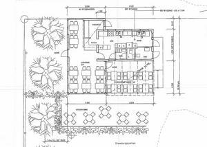 I mars år 2016 beviljade kommunen bygglov för sammanlagt 83 kvadratmeter plus en uteplats.