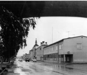 En regnig dag i Bräcke, september 1970.