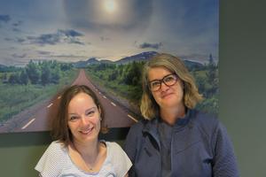 Hanna Isaksson och Helene Olsson Sandal anser att livsstilslotsarna har en unik kompetens som ska tas tillvara.