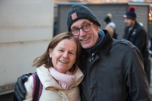 Mariut och Bosse Sundfeldt.