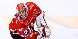 Marcus Hellgren fortsätter sin resa i hockeyallsvenskan. Foto: Bildbyrån.