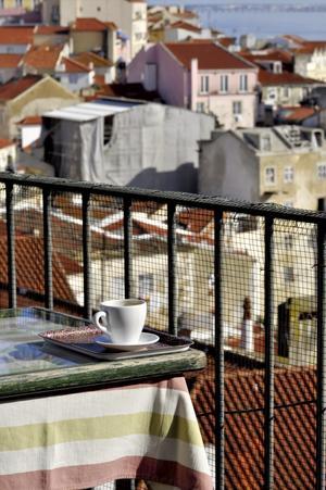 Kaffe med utsikt.
