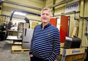 – Vi har trogen personal som står för Pepabs värdegrunder, säger Stig-Olof Elmelind.