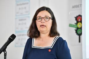 Utbildningsminister Anna Ekström (S). Foto: Jonas Ekströmer