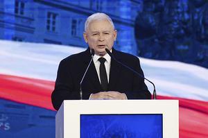 Jaroslaw Kaczynski, ledare i styrande Lag och rättvisa i Polen. Foto: Alik Keplicz/AP Photo/TT