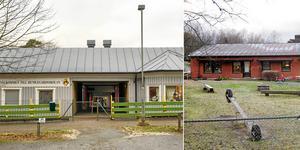 Humlegårdsskolan och Hallängens förskola är två av de byggnader som ska rivas.