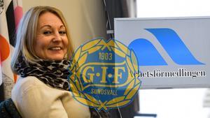 Sara Nilsson på GIF Sundsvalls marknadsavdelning är den som tagit initiativ till samarbetet med Arbetsförmedlingen: