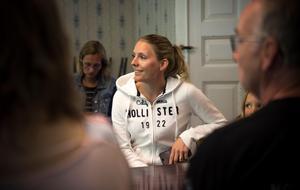 Emma Viklund representerade Fornby klint på sammankomsten.