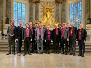 Svenska kyrkans biskopar ger nu sina råd till församlingar och pastorat. Foto: Torgny Lindén