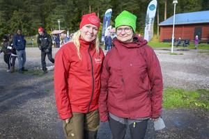 Helena Brus och Ylva Jakobsson från arrangerande miljökontoret på Sundsvalls kommun.