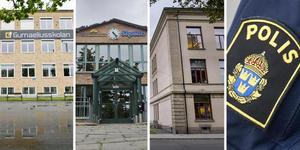 NA har kartlagt polisanmälningarna vid Örebros högstadieskolor och gymnasier under det gångna året.