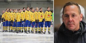 Sveriges nya förbundskapten Michael Carlsson ser spänt fram emot fyrnationsturneringen i Eriksson Arena.