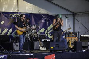 Steve Future Blues Band. Foto Peter Ohlsson
