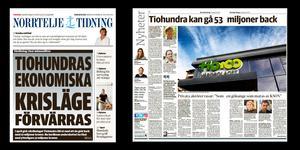 Norrtelje Tidning har under året följt Tiohundras ekonomiska problem i en rad artiklar.