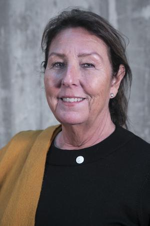 Lise Hjemgaard Svensson (M), ordförande för vård- och omsorgsnämnden i Östersunds kommun.