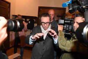 Jean-Claude Arnault, den så kallade kulturprofilen, döms mot sitt nekande till 2,5 års fängelse för två våldtäkter. Foto: Fredrik Sandberg
