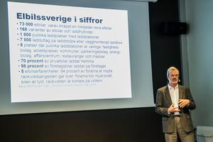 Elbilsentusiasten Jörgen Bengtson ligger bakom Facebook-gruppen Elbil Hälsingland.