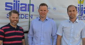 Jon Hansson, Tom Wallén och Tomas Turpers blir även nya delägare i koncernen.