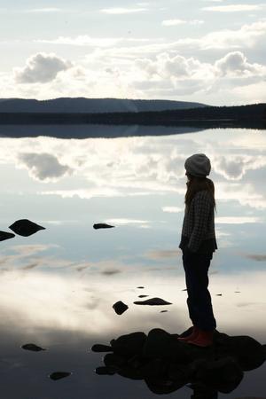 I fjälltrakterna runt Arjeplog vistas Sofia Jannok långa perioder varje år.   Foto: Anna Melissa Hardy