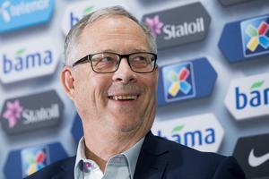 Lars Lagerbäck – nu norsk förbundskapten.