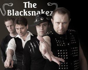 The Blacksnakez har skrivit en låt till Mora IK.Foto: Pressbild
