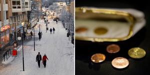 Kramfors kommun har en tuff kamp  ekonomiskt. Istället för att underskottet minskat har det nu ökat med 15 miljoner kronor. Foto: Erik Åmell och TT