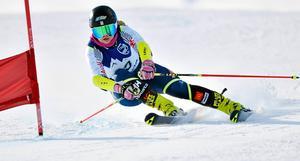 Elsa Håkansson Fermbäck under JSM förra vintern.
