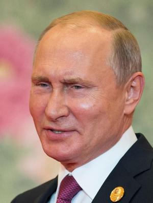 Rysslands president Vladimir Putin. Foto: AP Photo/Alexander Zemlianichenko