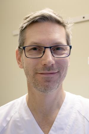 Urban Rosenqvist, överläkare vid barnkliniken, Västerås.