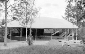 1954 byggdes dansbanan på Floparken. Bild: Privat