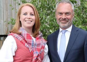 Det senaste dygnet har Annie Lööf (C) och Jan Björklund (L) inte sett något vidare ut. Foto: Sören Andersson / TT