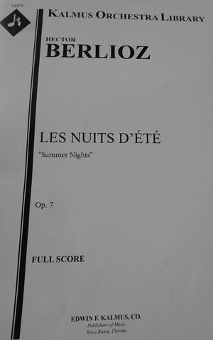 Berlioz partitur. Bild: Kerstin Monk