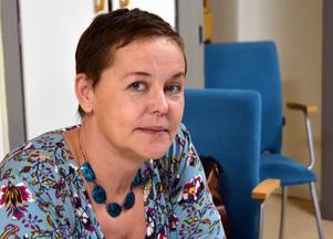 Annelie Haglund, chef över enheten barn, elevhälsa och stödteam i Sundsvall.