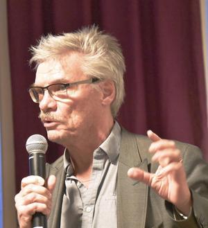 Aktivitetssamordnaren Christer Dahl var på plats. Foto: Tord Börjesson