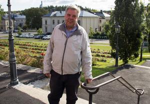 Lennart Ericsson hoppas på en fullsatt Ulrika Eleonora kyrka på lördag eftermiddag.