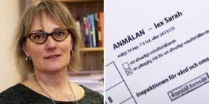 – Det ska inte få ske, säger Ovanåkers socialchef Marita Lindsmyr.