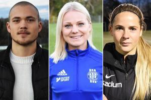 Eddie Ludvigsson, Malin Andersson och Frida Johansson är några av de nominerade på Fotbollsgalan.