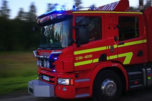 Ett larm om en brand i en badtunna i Sjurberg i Rättviks kommun inkom på fredagskvällen. Obs: Bilden är tagen i ett annat sammanhang.