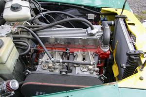 Motorn som sitter i Adams PV har inte så mycket gemensamt med den som satt i bilen för snart 60 år sedan.